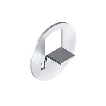 0-155-BR-0016I | Large Tab Attachment Plate for HM Zinc Plated