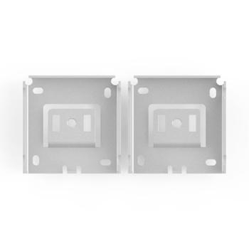 "0-155-BR-HM3FX | 3"" Fascia Installation Brackets | HM | 1½"" (38mm) Projection"