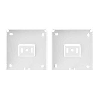 "0-155-BR-HM4FX   4"" Fascia Installation Brackets   HM   2"" (50mm) Projection"