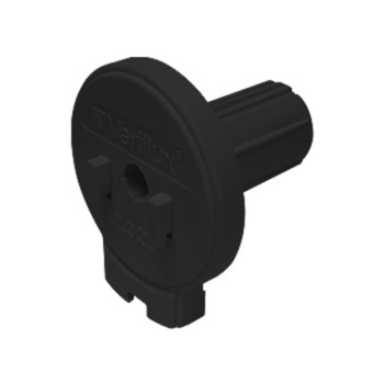 "0-155-DN-V15XX   VTX15 Designer Clutch Hook Mount - 1 ⅛"" (28mm) Core NOTCHED"
