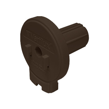 "0-155-DN-V17XX   VTX17 Designer Clutch Hook Mount - 1 ½"" (38mm) Core NOTCHED"