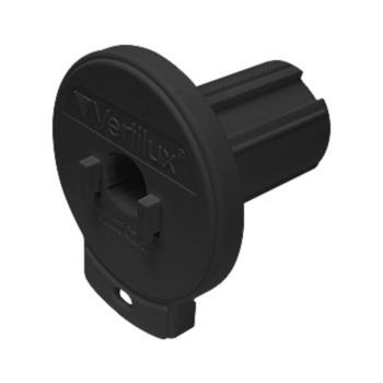 "0-155-DN-V20XX   VTX20 Designer Clutch Hook Mount - 1 ½"" (38mm) Core NOTCHED"
