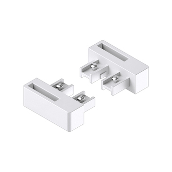 0-181-CA-00800 | Sliding Panel 2 Channel End Unit Guide Left/Right - White