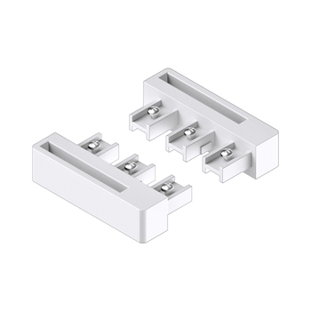 0-181-CA-00900 | Sliding Panel 3 Channel End Unit Guide Left/Right - White