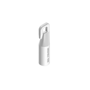 0-181-CA-0260V | Hook for Vertical Wand Control Carrier  White