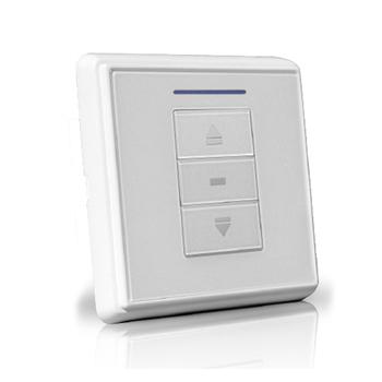 6-700-AT-E1W01 | VTi® Celtic RF Wireless Euro Wall Switch 1 Channel