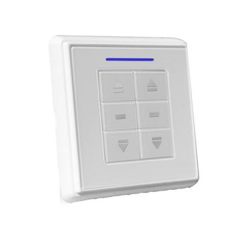 6-700-AT-E1W02 | VTi® Celtic RF Wireless Euro Wall Switch 2 Channels