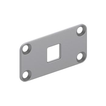 6-700-BR-SQ003 | Motor Bracket - Square Hole for 45mm Motors
