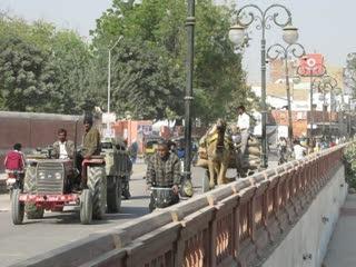 Verkehr in Bikaner, Rajasthan