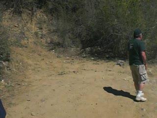 Van ends Crown King trek crossing the Humbug in Orobelle