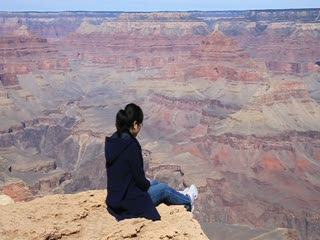 Grand Canyon_at the cliff