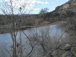 River behind Montezuma