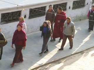 Stuparumrundung, Boudnath, Kathmandu