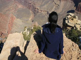 Grand Canyon_at the cliff_landscape