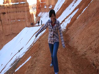 Bryce National Park_the muddy trail
