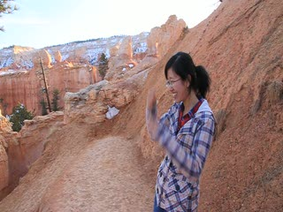 Bryce National Park_the sunset point