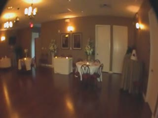 Reception hall at Vegas Weddings.