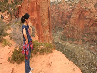 Zion national park_the cliff