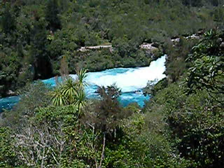 Huka Falls and the Jet Boats
