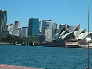 Sydney from the Manly Ferry