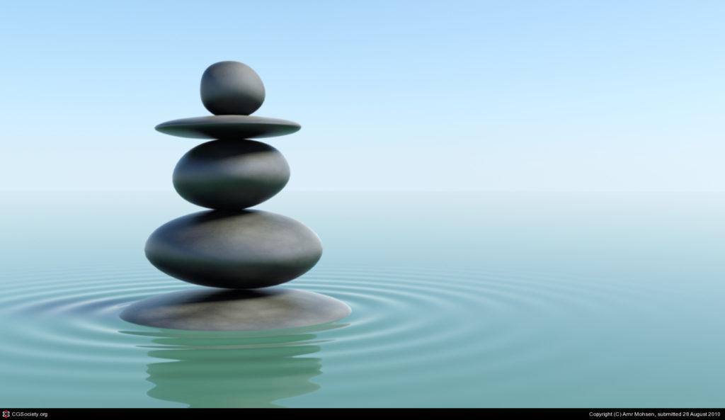 8 zen green water
