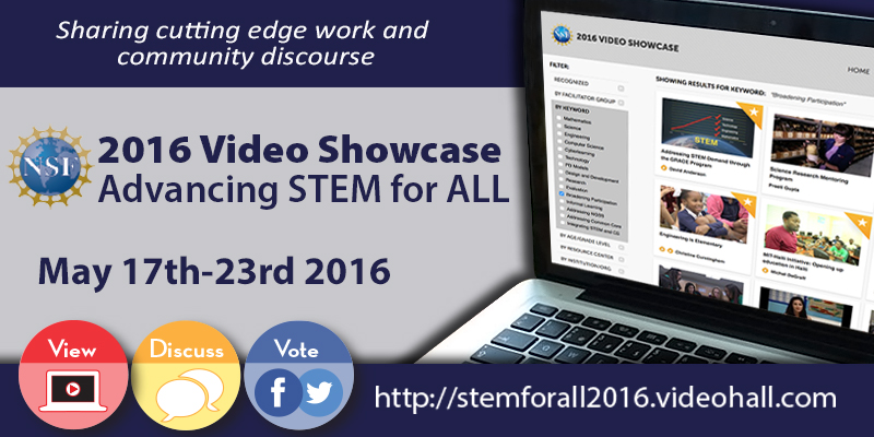 2016 STEM for ALL Video Showcase