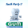 GUM , teeth party