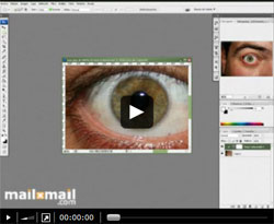 Curso vídeo Photoshop: cambiar color de ojos