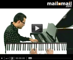 Curso vdeo Clases de piano. Blues, acompaamientos