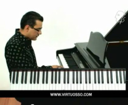 Curso vídeo Acordes extendidos, piano blues.
