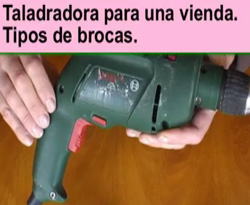 Curso vdeo Accesorios bsicos de un taladro para bricolaje. Tipos de brocas