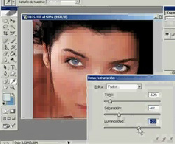 Curso vídeo Photoshop CS. Cambiar el color de ojos