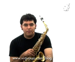 Curso vdeo Saxofn. Caas, cmo elegir la adecuada