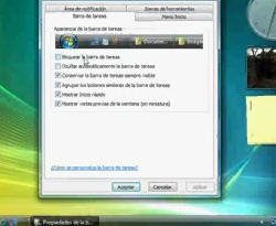 Curso vídeo Windows vista. Área notificación