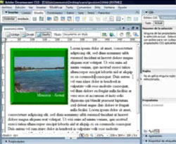 Curso vdeo DreamWeaver. Crear pgina web con DIV y CSS