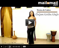 Curso vdeo Clase de danza del vientre: tcnica cadera