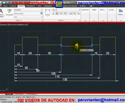 Curso vídeo Autocad civil. Grips dinámicos