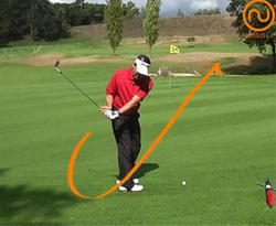 Curso vídeo Golf online. Ejercicios para chip de golf