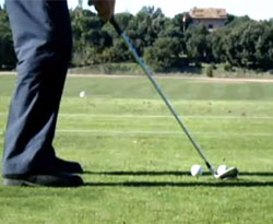 Curso vdeo Golf. Ejercicios para solucionar el shank o socket
