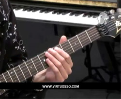 Curso vídeo Guitarra tutorial. Escalas pentatónicas