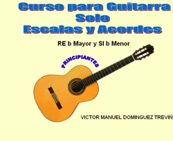 Curso vídeo Tocar acordes de guitarra. Si y Re menor