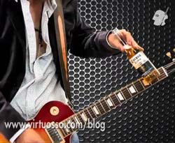 Curso vdeo Tocar guitarra con botella
