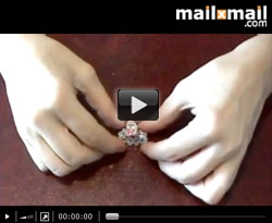 Curso vdeo Abalorios y bisutera. Hacer anillos: Anillo Jordan