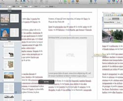 Curso vdeo Cmo crear una lnea de tiempo HTML. iBooks author