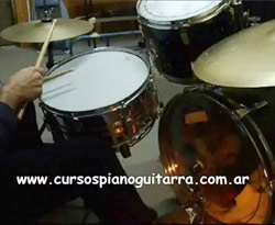 Curso vdeo Tocar funk en batera. Tcnica bsica (ritmos)