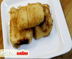 Curso vdeo Postres. Receta de leche frita