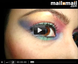 Curso vdeo Maquillaje de ojos. Arco iris