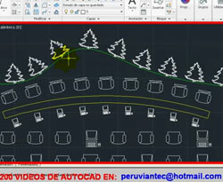 Curso vídeo Matriz de camino. Autocad civil 2012