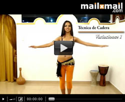 Curso vdeo Danza del vientre. Tcnica de cadera: variacin 1