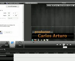 Curso vdeo Banner de ttulo. Animacin en photoshop